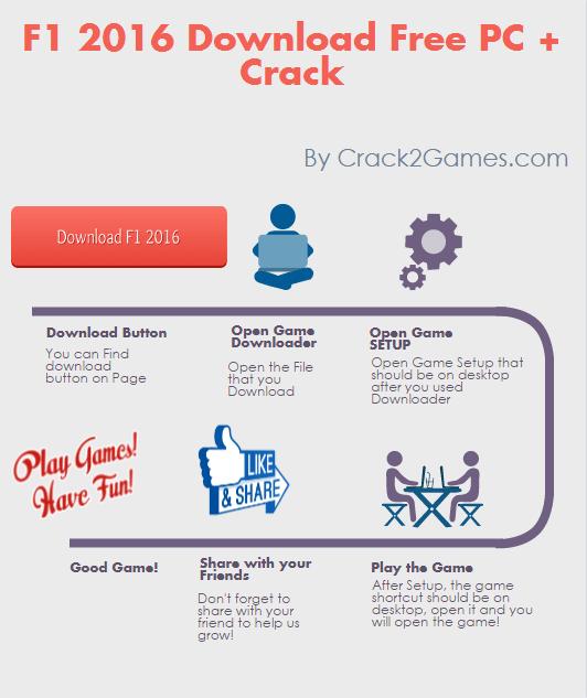 f1 2016 download crack free