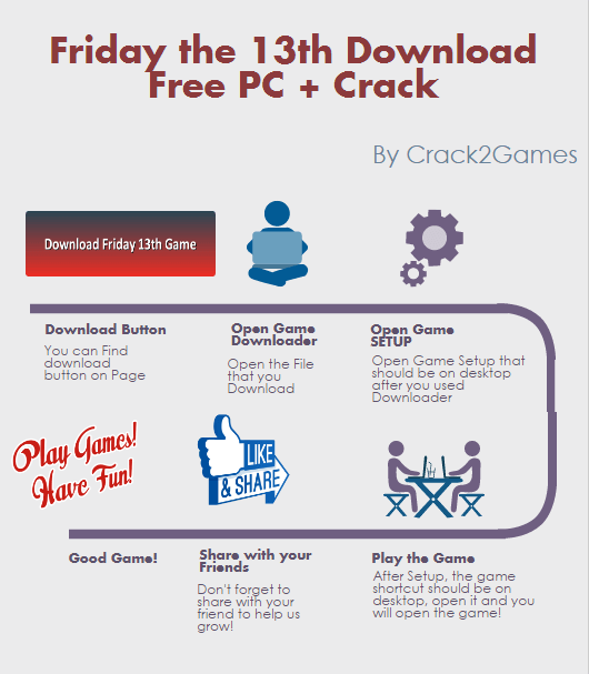 Friday the 13th The Game download crack free