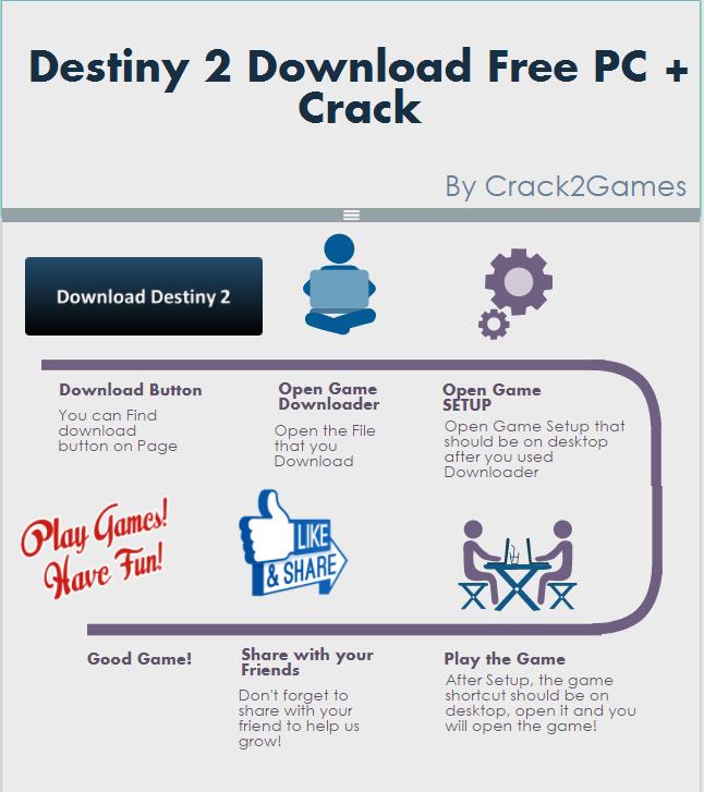 Destiny 2 download crack free