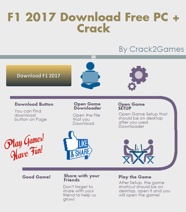 F1 2017 download crack free