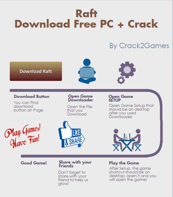 Raft download crack free