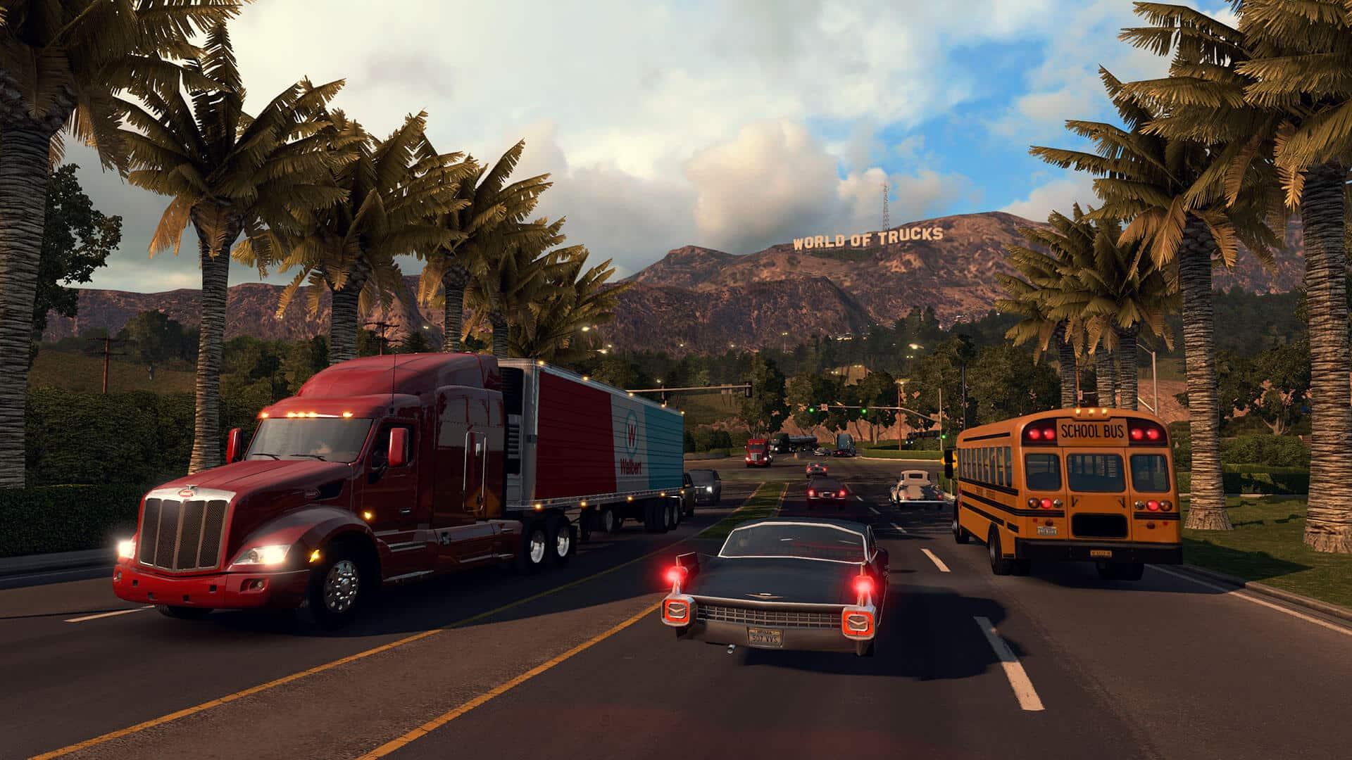 American Truck Simulator download free
