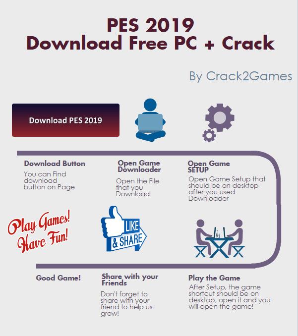 PES 2019 download crack free