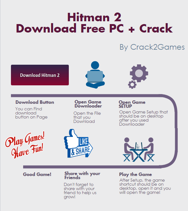 Hitman 2 download crack free