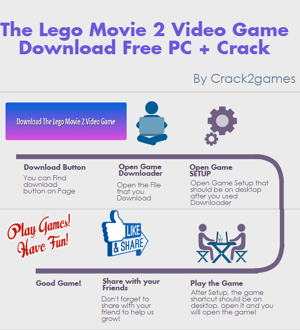 The Lego Movie 2 Videogame download crack free