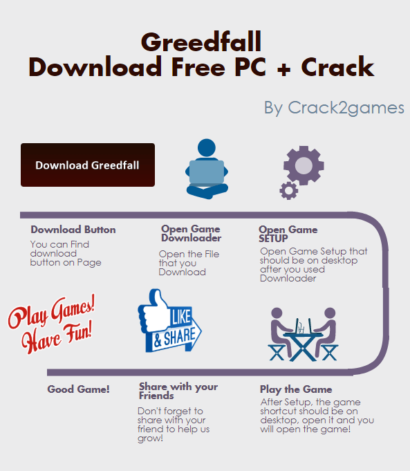 Greedfall download crack free