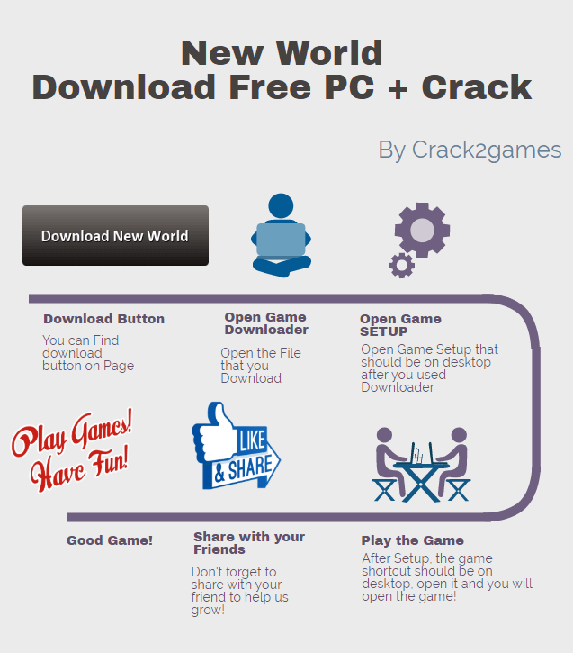 New World download crack free
