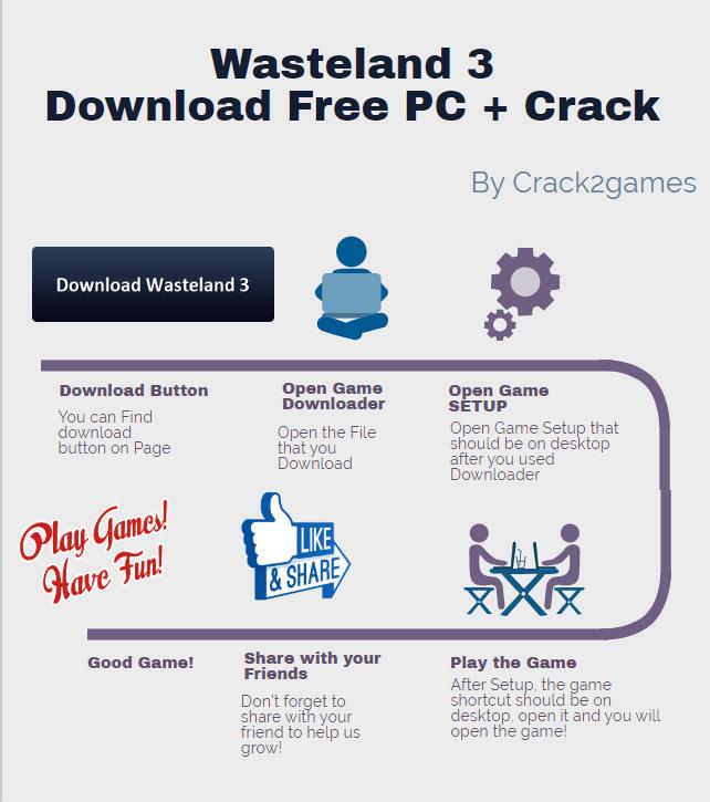 Wasteland 3download crack free